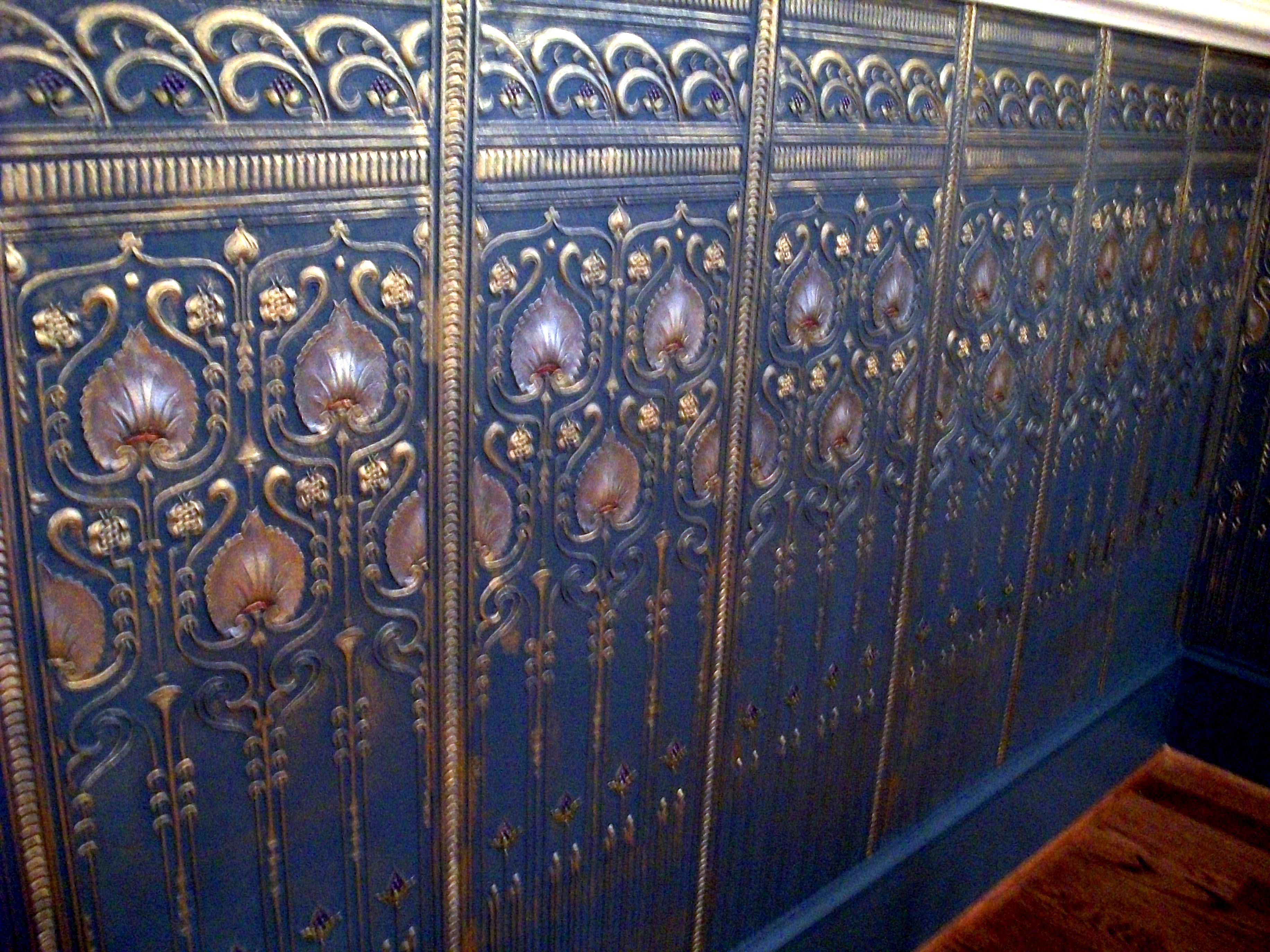 Image gallery lincrusta panels for Art nouveau wallpaper uk